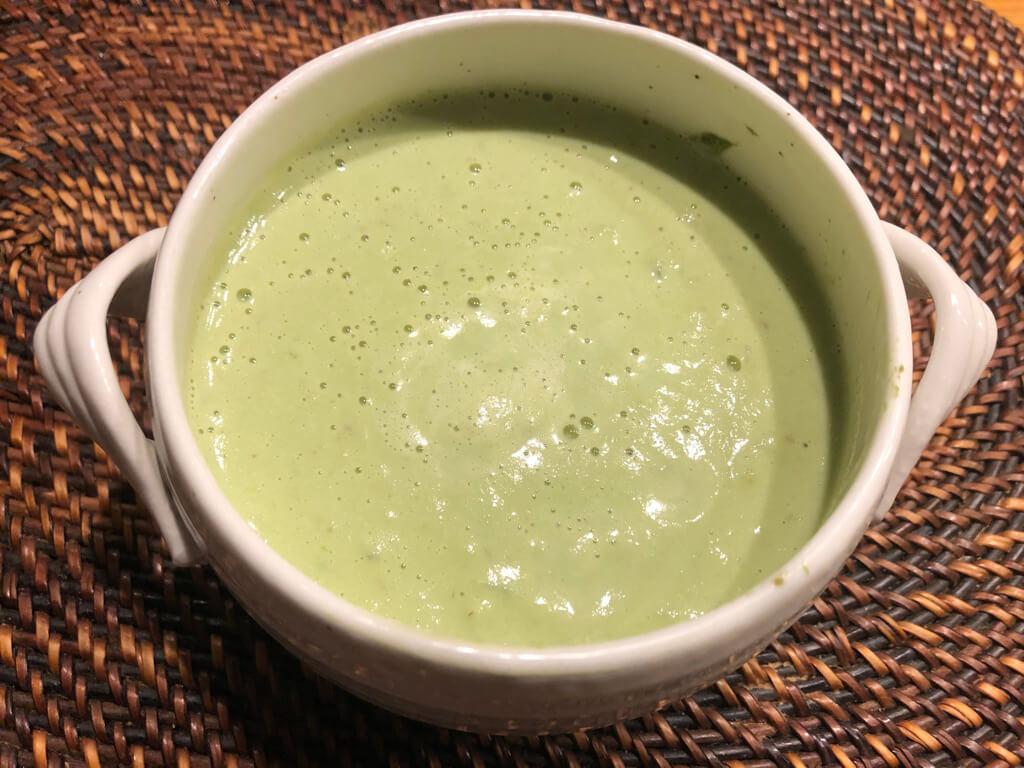 ファスティング 断食 簡単 回復食 アボカド豆乳スープ