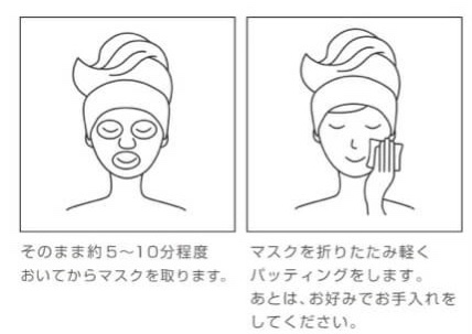 プリュ EGF ディープモイストマスク 使用感 クチコミ レビュー